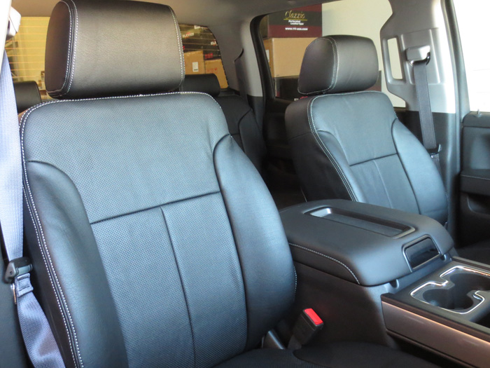 Chevy Silverado Clazzio Leather Seat Covers Ebay