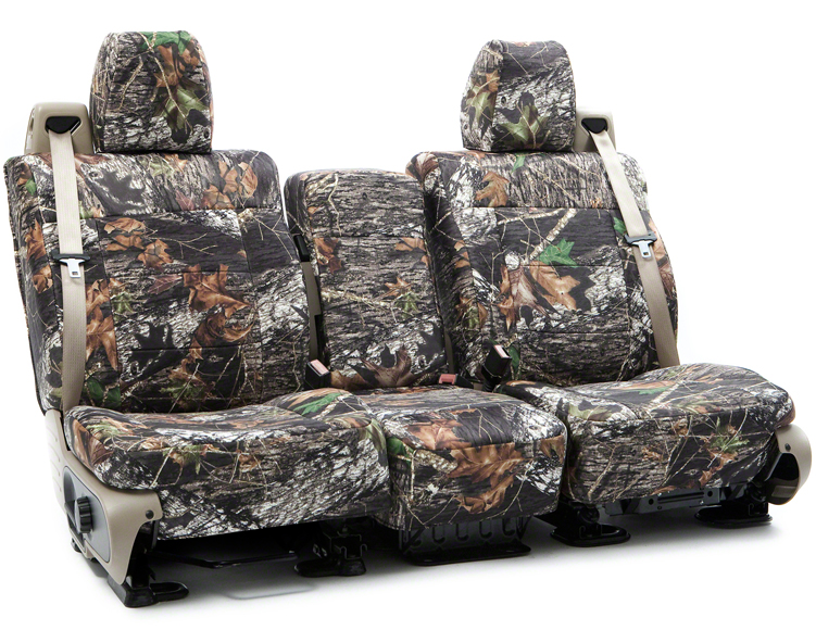 Coverking Mossy Oak Custom Seat Covers For Dodge Ram 250